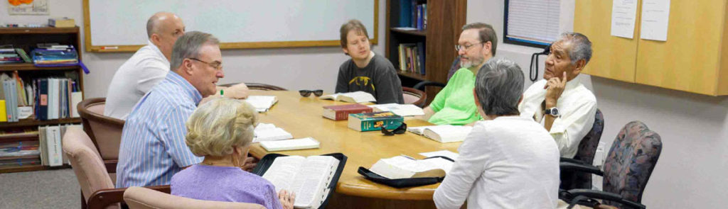 Followers of the Word Bible Study meets Sundays at 9:45 am