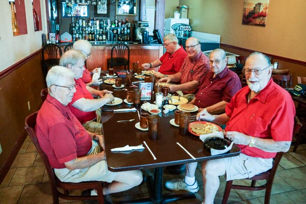 Senior Adults - Eagles Coffee Club Red Shirt Breakfast - 2nd Wednesday every month
