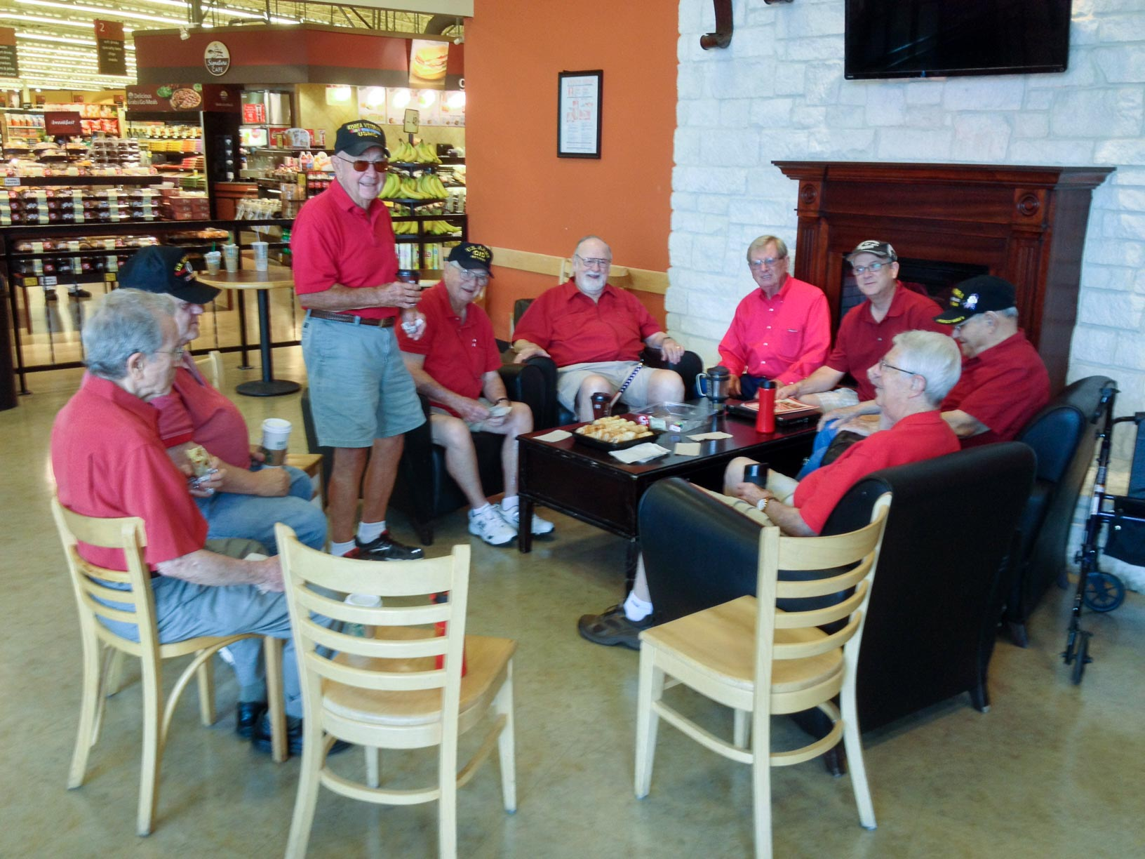 Senior Adults - Eagles Coffee Club