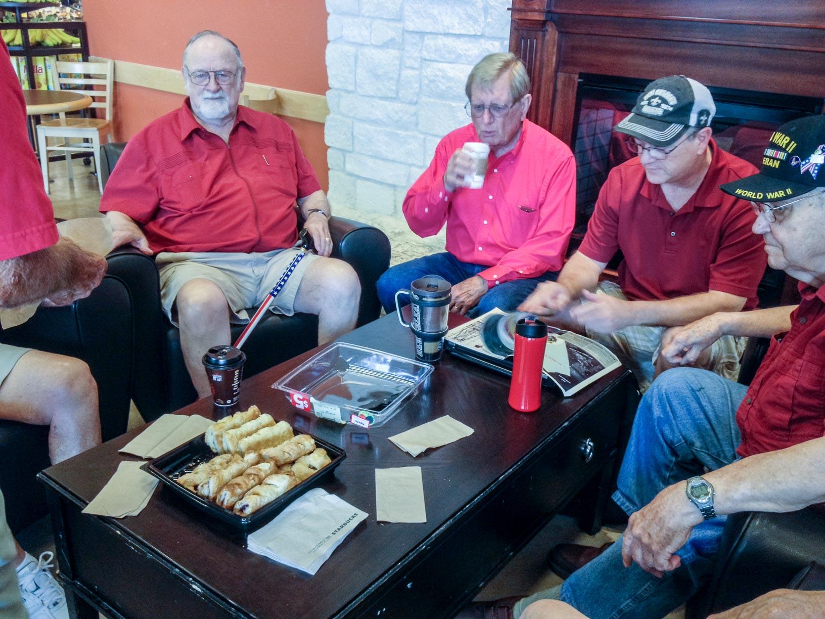 Senior Adults - Eagles Coffee Club