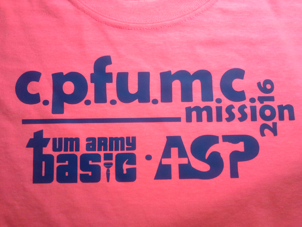 Summer Youth Mission Teams T-Shirt 2016