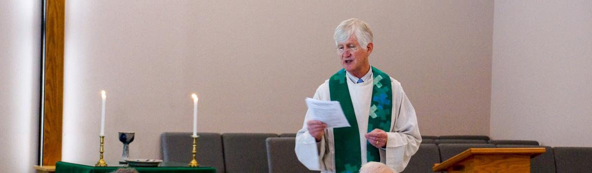Senior Pastor Peter Castles
