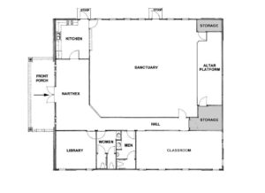 Sanctuary Building Floorplan