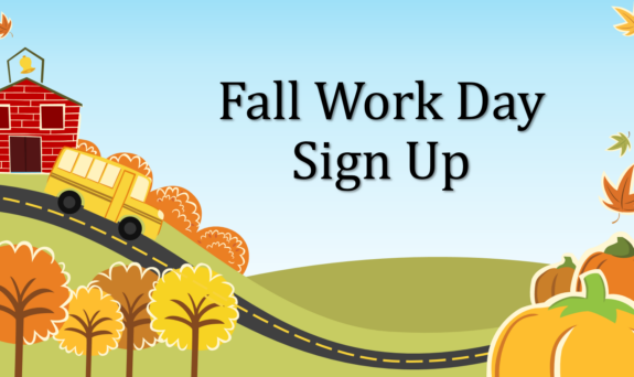 Fall Work Day Signup